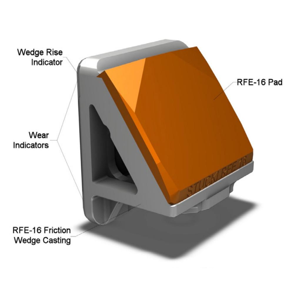 RFE-16  for Barber ®  S-2-B, C Trucks